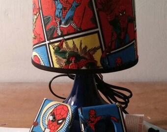 Spider Man lamp set