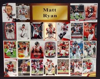 Two Atlanta Falcons Sport Card Posters