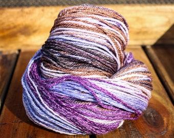 Merino/Seacell blend Handspun Yarn, Sport weight