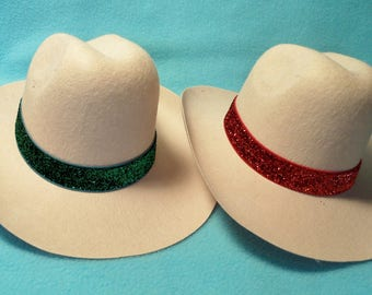 18 Inch Doll Tan Cowgirl Hat