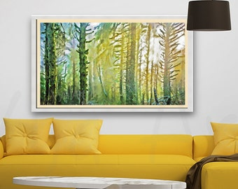 Landscape Painting Original Painting Abstract painting landscape oil landscape landscape art oil painting abstract landscape decor Print