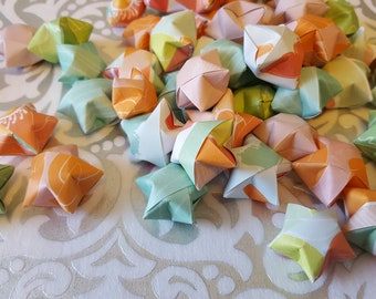 100 Origami Wishing Stars with customizable messages