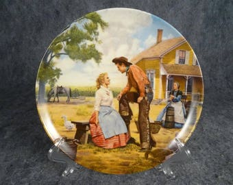 """Edwin Knowles Ceramic Collector Plate """"Oh,What A Beautiful Mornin"""""""
