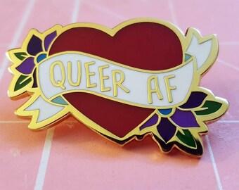 Queer As F*ck - Enamel Pin