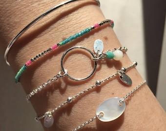 Beads - adjustable - miyuki Beads Bracelet