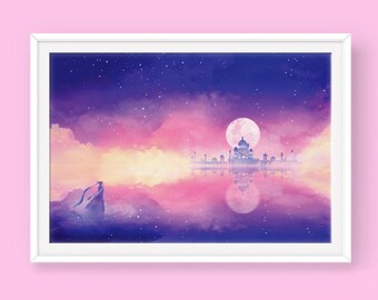 Sailor Moon Poster: The Silver Millennium