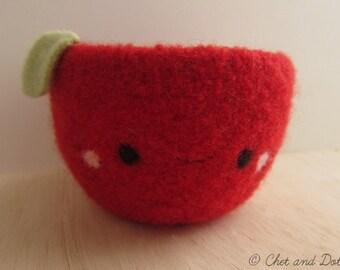Happy Apple Woolen Bowl