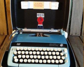 Smith Corona Typewriter, Smith Corona Sterling Typewriter