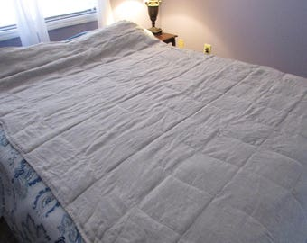 Length ADD-ON for LPK solid linen weighted blanket