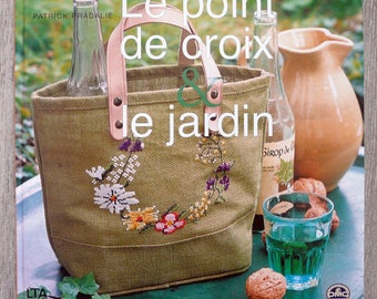 Garden & cross stitch book