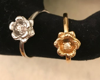 Dainty Floral Ring for Her
