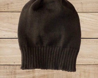 Merino wool hat