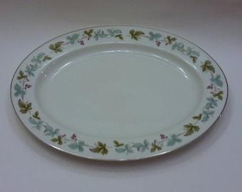 MIS Fine China Platter Grape Vine Vintage