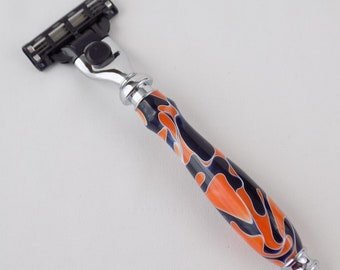 Mach 3 or Venus Razor in Broncos or Bears Acrylic