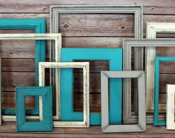 Farmhouse Decor, Fixer Upper, Rustic Home Decor, Picture Frame Set, Farmhouse, Picture Frames, Beach Wall Decor, Beach Wedding, Wedding