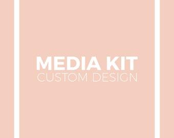 Custom Media Kit Design for Your Blog or Custom Press Kit for Your Business