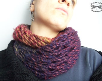 WOOL INFINITY SCARF 100% Pure Wool