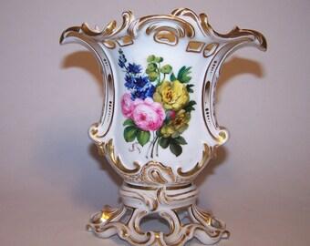 Antique porcelain old Paris 19th century VASE