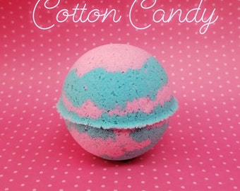 Cotton Candy Bath Bomb-gift for friend