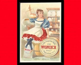 Vintage Kitchen Print 1895 - Retro Kitchen Decor Kitchen Kitchen Poster Vintage Decor Vintage Food Kitchen Print  t