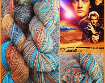 The Spice Must Flow- 462 yds/ Sock Yarn