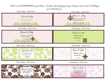 Soap Favor Labels - Soap Favor Tags - Bridal Shower Favor Tags - Personalized Label - Shower Favor Tags - Custom Labels