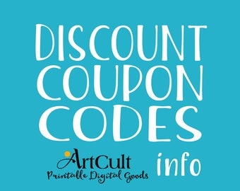 DISCOUNT COUPON CODES for multiple purchase at a time. Up to 50% off -