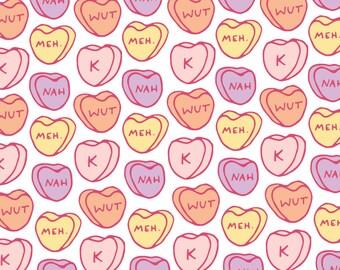 Anti-Valentine A2 Card