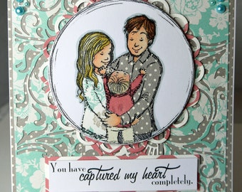 You Have Captured My Heart Completely Handmade Card