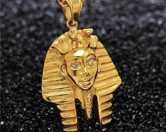 Golden Pharaoh Necklace