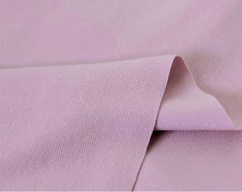 Light Purple 1x1 Ribbing and Binding Knit Fabric, by Half Yard 77042