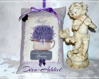 Hanging on the theme of lavender - decorative pillow