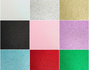 A4 Glitter Cardstock Premium Quality Low Shed 250gsm Card Arts Crafts