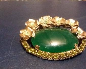 Vintage Pin Green