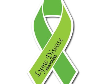 Lyme Disease Awareness Sticker/Decal or Magnet