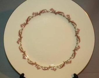 Minton Laurentian Pink Dinner Plate