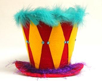 Circus Circus Top Hat, Circus Party decoration, Big Top, Party Hat