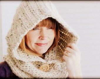 Crochet Hooded Cowl
