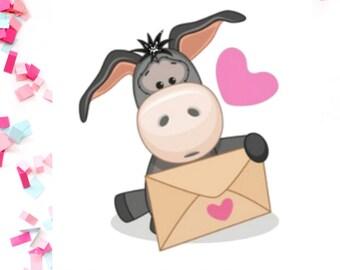 Happy Mail Donkey