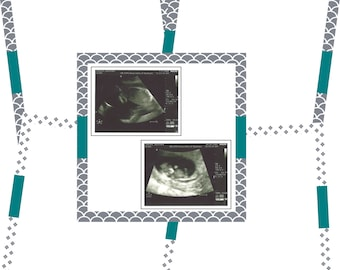 Ultrasound page pack for baby book