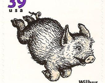 Unused 2006 Wilbur the Pig - Charlotte's Web - Favorite Children's Book Animals - Postage Stamps Number 3988