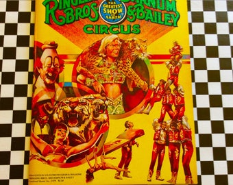 c1979 109th Edition Ringling Bros Barnum Bailey CIRCUS Program