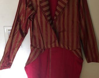 Victorian Striped Tailcoat