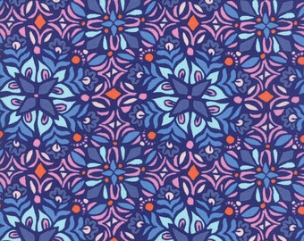 Moda - Voyage Kerala by Kate Spain - Drift - 27283 14 - 100% cotton fabric - Fabric by the yard(s)