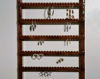 Earring Display Earring Holder Wall Mount Earring Rack Earring Organizer Earring Storage Earring Hanger Jewelry Display Earrings