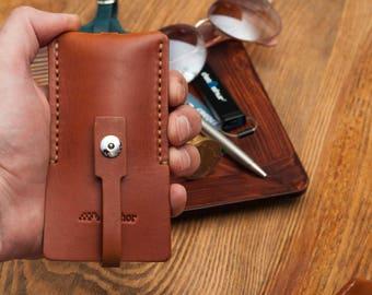 Leather key holder personalized key holder leather keychain key case leather key fob leather key chain leather key case key chain key fob