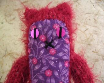 Raspberry Knitty Kitty