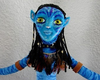 Avatar Art Dol Neytiri-(Taking  Orders To Create a Similar Doll)