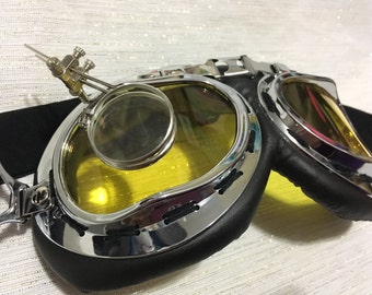 Customized Holtzmann Style Goggles with Magnifiers