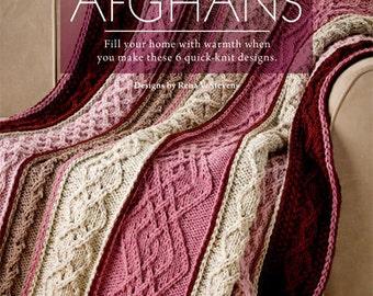Last-Minute Afghans, Annies Knitting Books, Annies educational books, Author Rena V Stevens